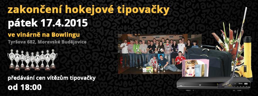 Zakončení Hokejové tipovačky 2014/2015
