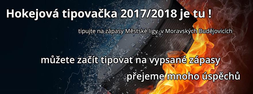 Hokejová tipovačka 2017/2018